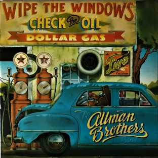 Allman Brothers Band (The) - Wipe The Windows, Check The Oil, Dollar Gas (LP) (VG/VG-)